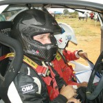 A KEEN BATTLE DEVELOPING IN S1600 RALLY CHAMPIONSHIP