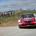 Skoda APRC rally win