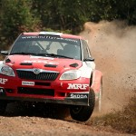 Team MRF start favourites at Rallye New Caledonia