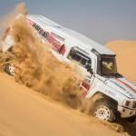 Pharaons Rally: deep in the Egyptian desert