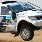 Atlas Copco Ford Racing salvages crucial points on tough Botswana Desert Race