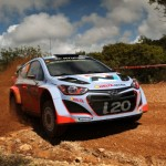 Rally Italy: SS 4 Hirvonen's Ford Fiesta BURNS OUT