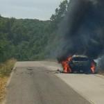 Fiery end for Hirvonen