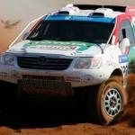 TAYLOR/MURPHY WIN TOYOTA KALAHARI BOTSWANA 1000 DESERT RACE