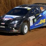 Cronje first on the road day Volkwagen Rally