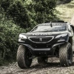 2-wheel drive for Peugeot at Dakar