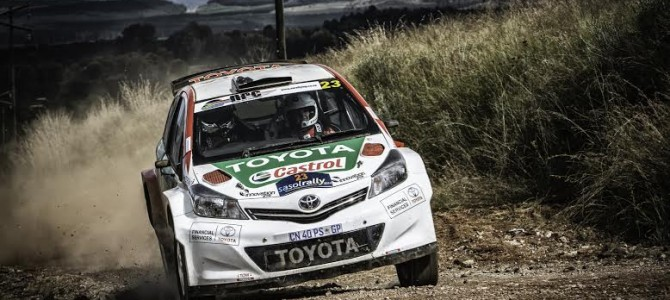 IMPERIAL TOYOTA CULLINAN RALLY KICKS OFF SECOND HALF OF SA NATIONAL RALLY CHAMPIONSHIP