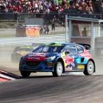 Team Peugeot-Hansen claim first World Rallycross podium