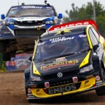 Tanner Foust first to checkered flag at Volkswagen Rallycross N.Y.