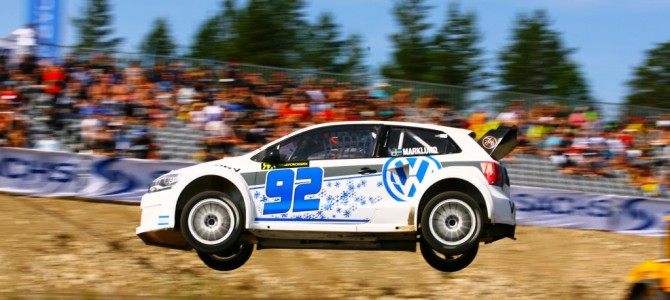 David Coulthard Catches World Rallycross Fever