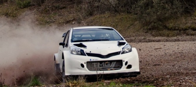 Toyota to test Yaris WRC on asphalt
