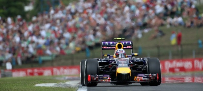 Hungarian F1 Grand Prix: Ricciardo wins Hungarian thriller