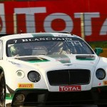Bentley makes return to track after Le Mans