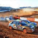 Subaru Driver Bucky Lasek Beats the Heat to Reach Podium at Red Bull Global Rallycross Daytona
