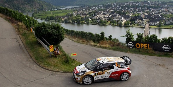 Germany countdown: the stages