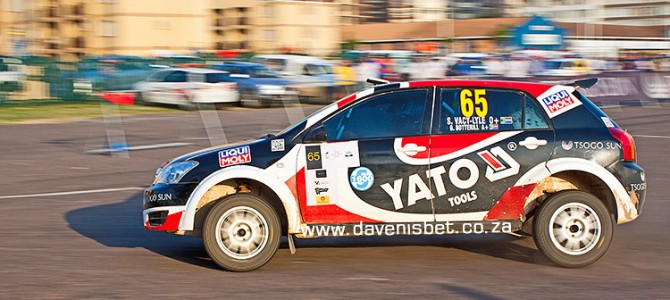 Van Beurden/Swartz in control of S1600 on Imperial Toyota Rally