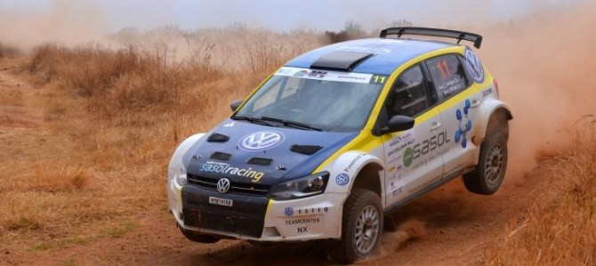 Lategan and White Rally to Fourth Place Overall at Cullinan Event