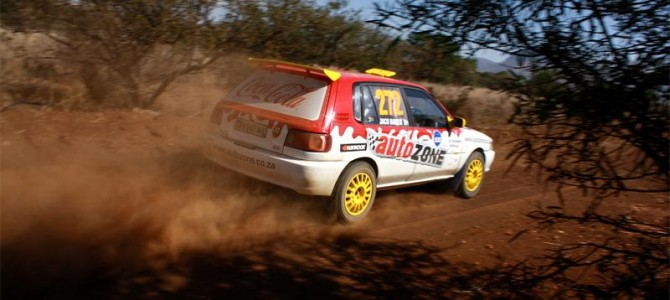 BAKERS WIN FIRST DAY OF REGIONAL IMPERIAL TOYOTA CULLINAN RALLY