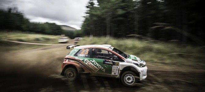 Poulter wins Imperial Toyota Rally