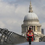 Watch Marc Márquez take London on his MotoGP bike!