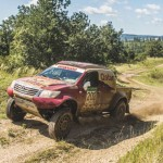 Overdrive Racing sends five Hiluxes to Baja Poland