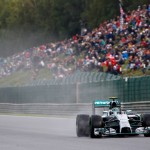 F1 Belgian Grand Prix: Rosberg beats Hamilton to pole at wet Spa