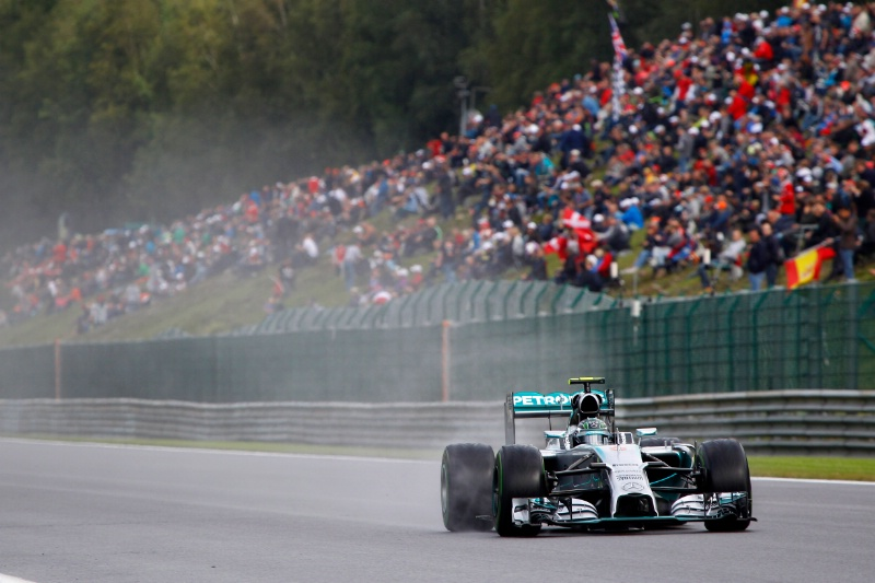 Nico Rosberg Spa