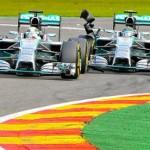 Daniel Ricciardo wins Grand Prix as Hamilton-Rosberg spat reginites