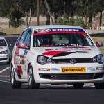 Thrills and spills for Engen Volkswagen Cup racers at Phakisa