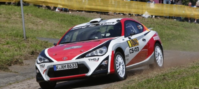 POSITIVE DEBUT FOR GT86 CS-R3