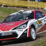Toyota's new potential customer rally car