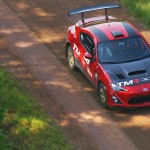 Toyota boss samples Finland WRC stage