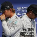 Formula 1 – Mercedes holding Hamilton, Rosberg crunch talks