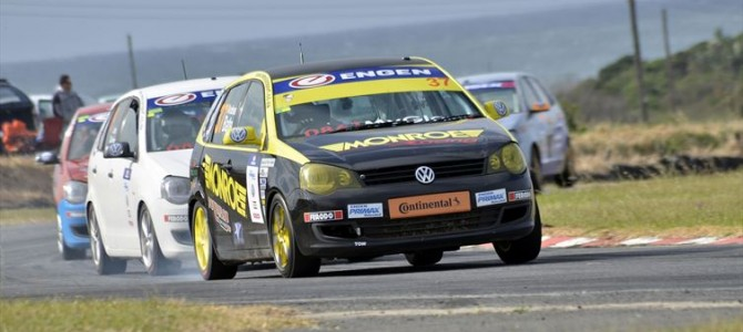 Engen Volkswagen Cup racers at the top of their game