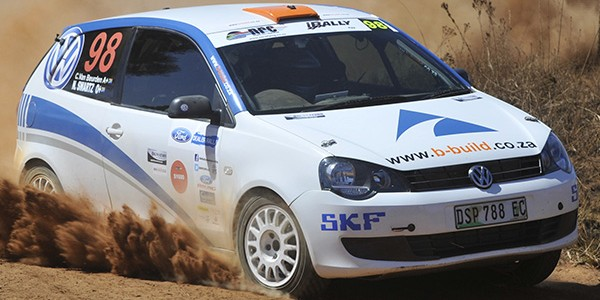 VAN BEURDEN AND SWARTZ THE COMBINATION TO WATCH IN TOYOTA CAPE DEALER RALLY