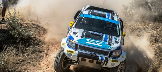 Atlas Copco Ford Racing Wins Vryburg 450