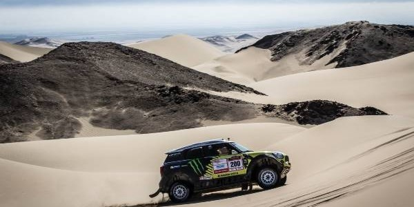 2014 Desafio Inca Peru: Joan 'Nani' Roma Wins // MINI And X-Raid Complete A Successful Test For The 2015 Dakar Rally
