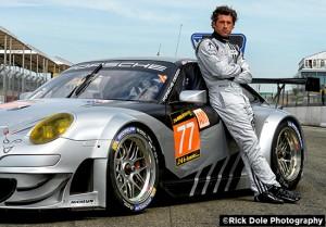 Patrick Dempsey at Le Mans