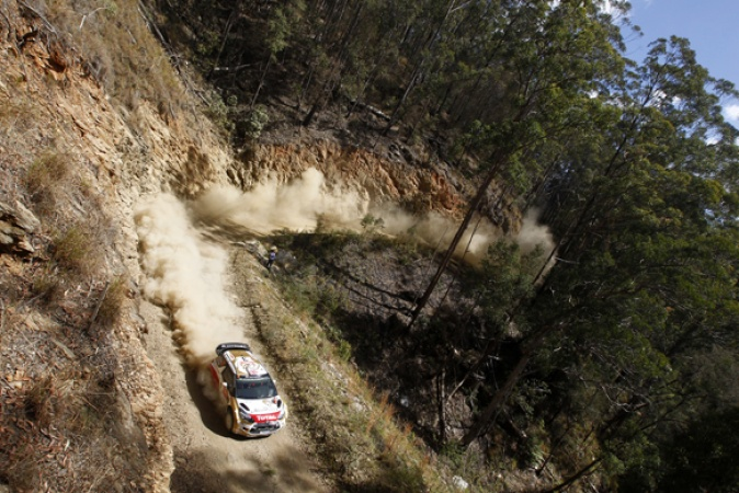 Rally Australia stage