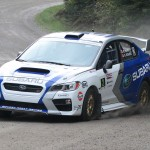 Subaru Brings New Car and Driver, Scores Second at Rallye Défi
