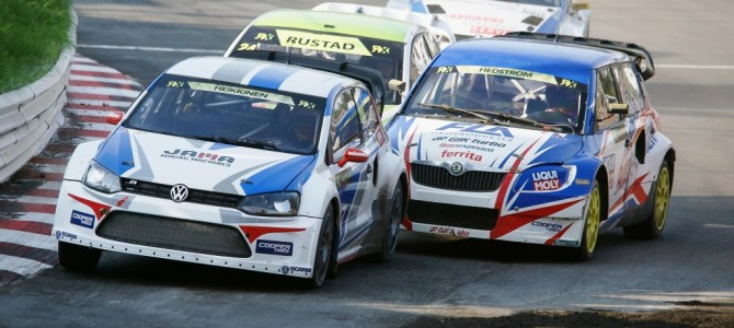 Marklund holds on to potential  FIA World Rallycross championship win in Germany