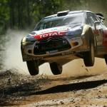 Meeke moves ahead in Australia on SS2 and SS 3
