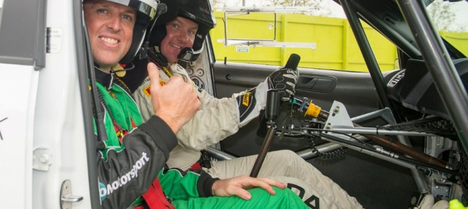 England cricket star to join WRC finale