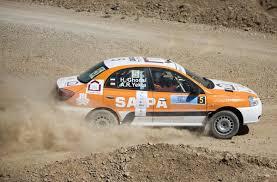 The Saipa team car