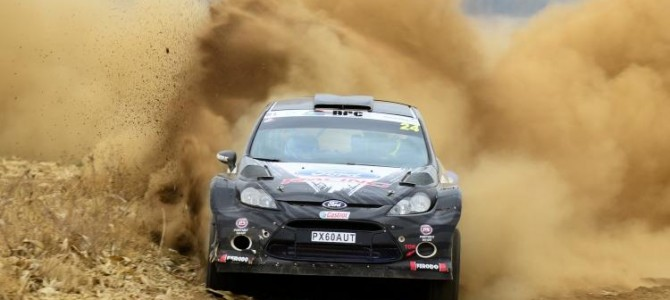Polokwane rally drama for Cronje and Lategan