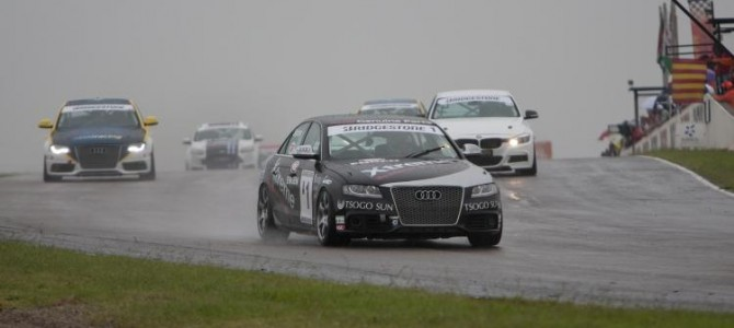 Audi S4 quattro racers ready for a dramatic finale