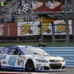 Drivers brawl at NASCAR race