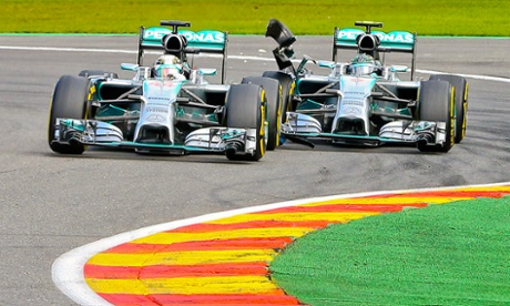 Hamilton and Rosberg One must win
