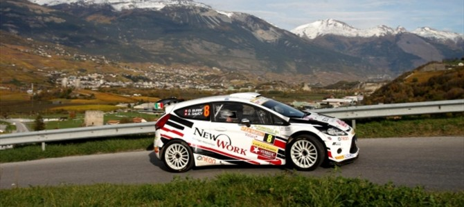 ERC Rallye du Valais entry highlights