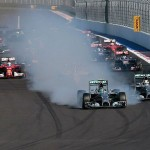 Lewis Hamilton wins Russian Grand Prix from Mercedes team-mate Nico Rosberg